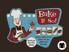 Bake It So! LS Tee