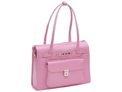 Wenonah Leather Ladies Briefcase - Pink