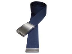 Bottle Cap Web Belts, Navy