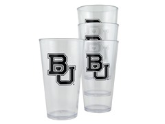 Baylor Bears Plastic Pint Glasses 4-Pk