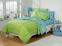 30-Piece Twin XL Bed/Bath Set - Turq