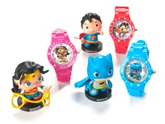DC Comics Little Mates Watch & Figurine Set