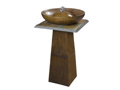 Foster Fountain, Bronze Finish with Slate