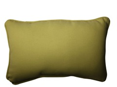 In/Outdoor Chartreuse Pillow-Set of 2