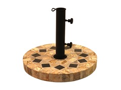 Tumbled Marble Umbrella Base