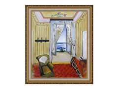 Henri Matisse - My Room at Beau-Rivage