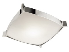 Four-Light Flush Mount Ceiling Light