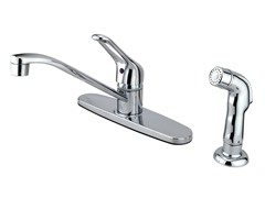 Kitchen Faucet w/ Spray, Chrome