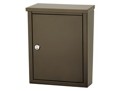 Chelsea Locking Wall Mount Mailbox, Bronze