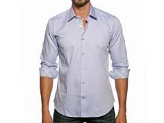 Jared Lang Dress Shirt, Blue