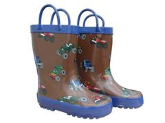 Monster Truck Rain Boots