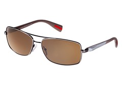 Polarized Unisex Rectangle Sunglasses