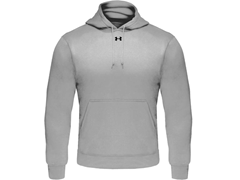 Under Armour Mens Fleece Hoodie, Grey (M)