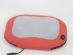 Lumbar Massage Cushion with Heat - Red