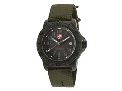 Luminox Men's Black & Olive Watch