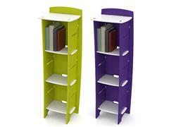 3-Shelf Bookcase - 2 Colors