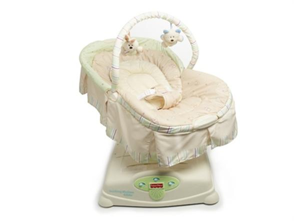 fisher price soothing motions glider manual
