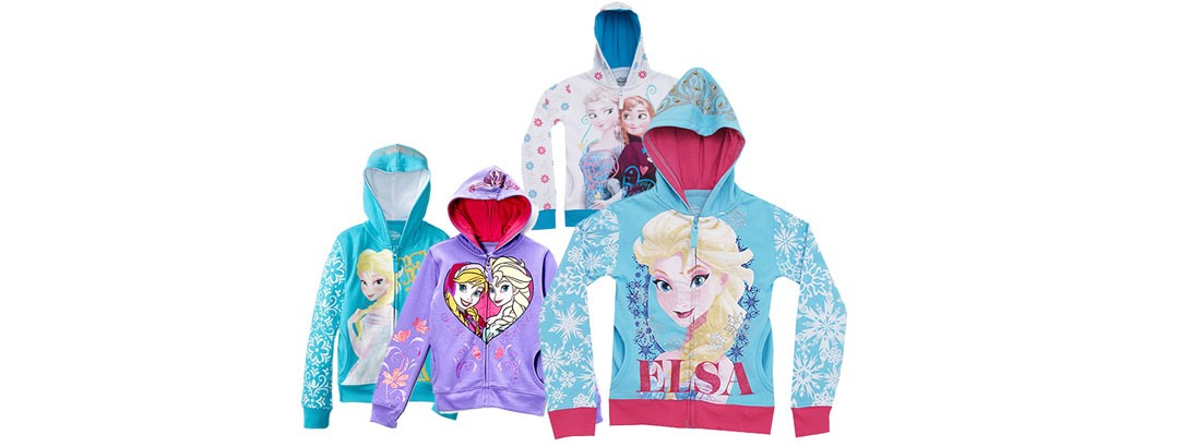 Disney Frozen Girls Hoodies $1...