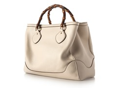 Gucci Diana Bamboo Handle Tote, Cream