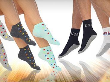 ABI 12 Pack Socks