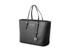 Michael Kors Jet Set Saffiano Medium Travel, Blk