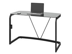 Bush Pictor Metal and Glass Desk