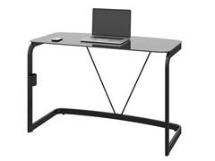 Bush Pictor Metal and Glass Desk