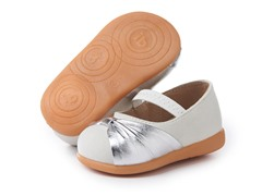Squeaky Shoe - Nora, White (3-8)
