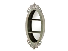 Oval Shadowbox Mirror