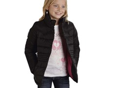 Black Quilted Jacket (XS-XL)
