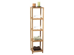 TMS Bamboo 5-Tier Vertical Shelf
