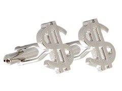 SD Man Dollar Sign Cufflinks