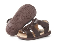 Itzy Bitzy Shoe - Connor, Brown (8)