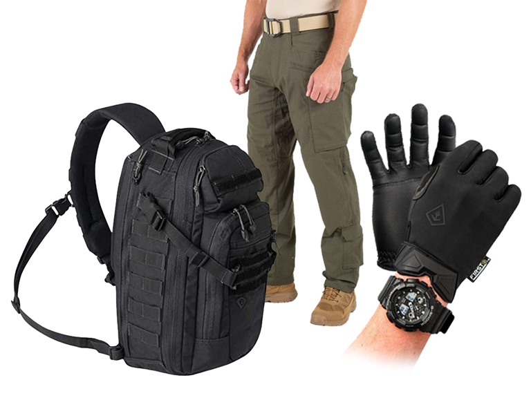 First Tactical Packs, Pants and Patrol Gloves