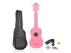 Soprano Ukulele Mini Guitar Starter Kit