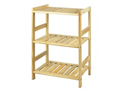 Pine Solid Wood 3 Tier Shelf - Natural