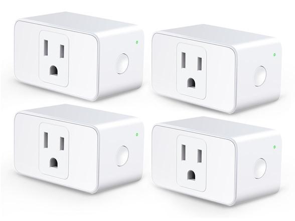 meross Wi-Fi Smart Plug Mini (4-Pack)