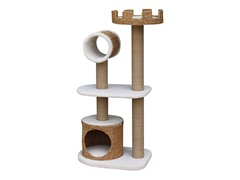Recycled Paper Cat Tower with Condo