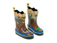Pirate Rain Boots (6-2)