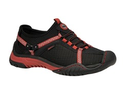 Jambu Bianca Trail Sneaker - Black/Red