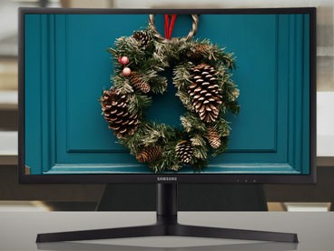 Display & Monitor Your Holiday Cheer