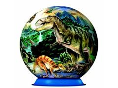 72-Piece Dinosaurs 3-D Puzzle Ball