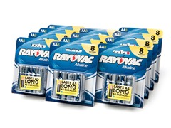 AA Alkaline Batteries - 96 Pack