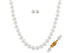 2-Piece Large Freshwater Pearl Set