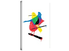 Colors of  a Feather Gallery Wrapped Canvas 2-Sizes