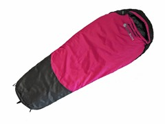"Lucky Bums Kids 64"" Sleeping Bag - Pink"