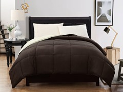 Reversible Comforter-Chocolate-2 sizes