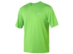 Fila Men's Green Heathered Crew (XL+)