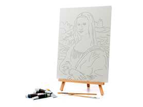 Paint Your Own Mona Lisa Set