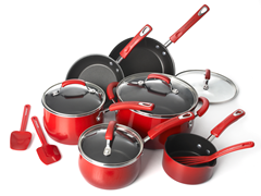 Rachael Ray 13 PC Porcelain II Cookware